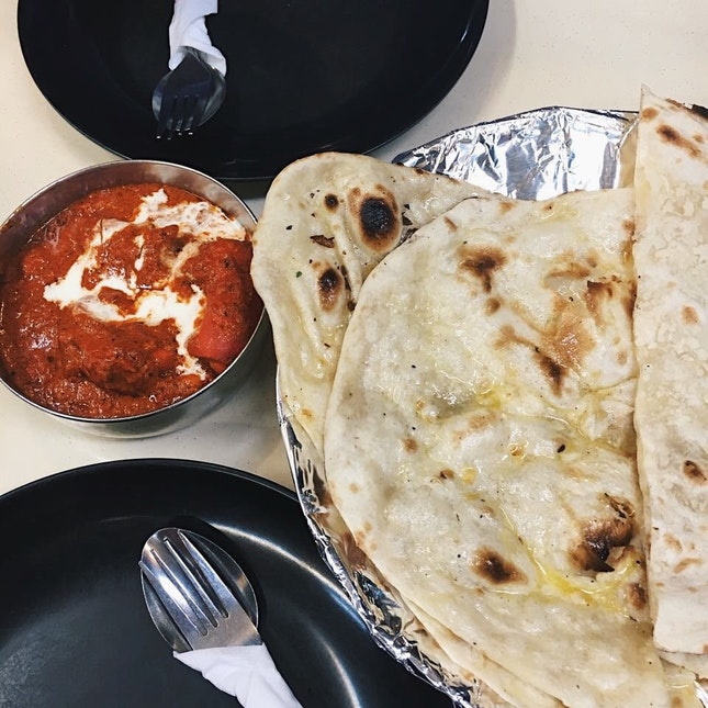 Butter Naan & Butter Chicken