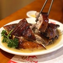 Amazing, succulent, duck meat...