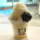 Yuzu citron shaved ice ($6.70)  Refreshing shaved ice with yuzu syrup.