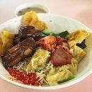 Kolo mee ($4.50)  @ yummy Sarawak kolo mee  My favourite place for a homely bowl of kolo mee.
