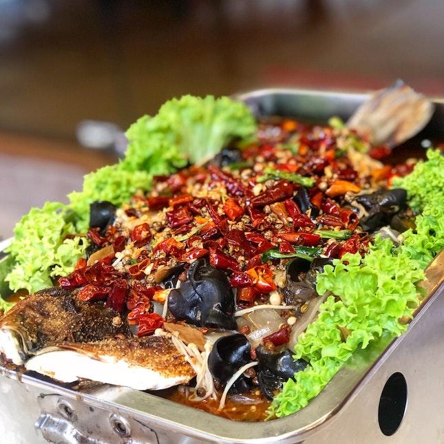 Sze Chuan Spicy Fish