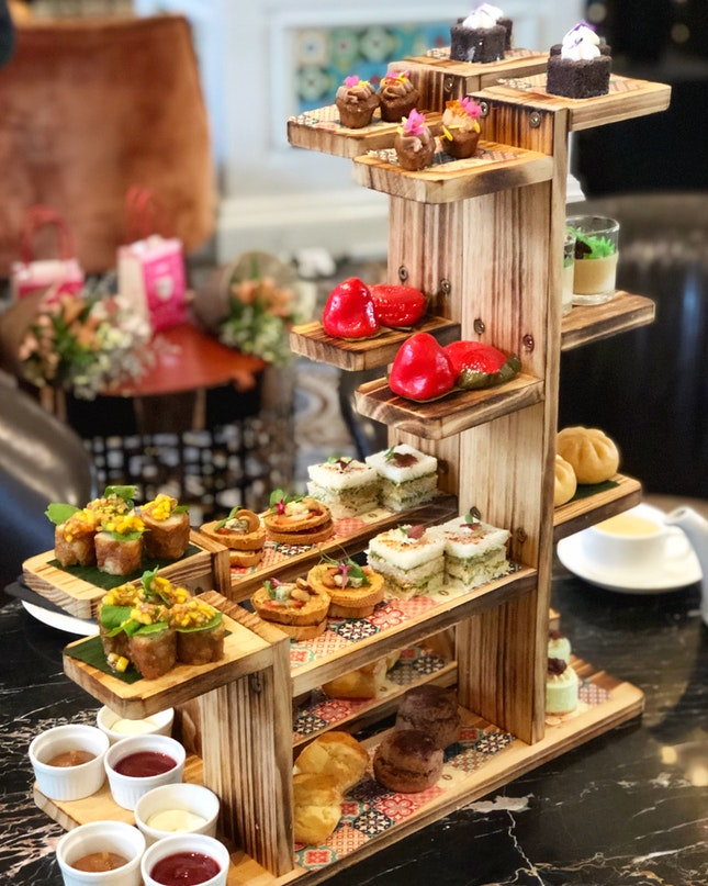 Peranakan High Tea Set ($88++ For Two Pax)