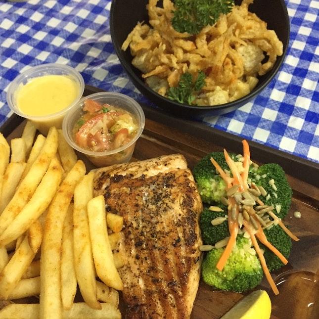 Western Style Seafood A La Hawker