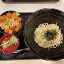 Cold Mori Soba With Kaisen