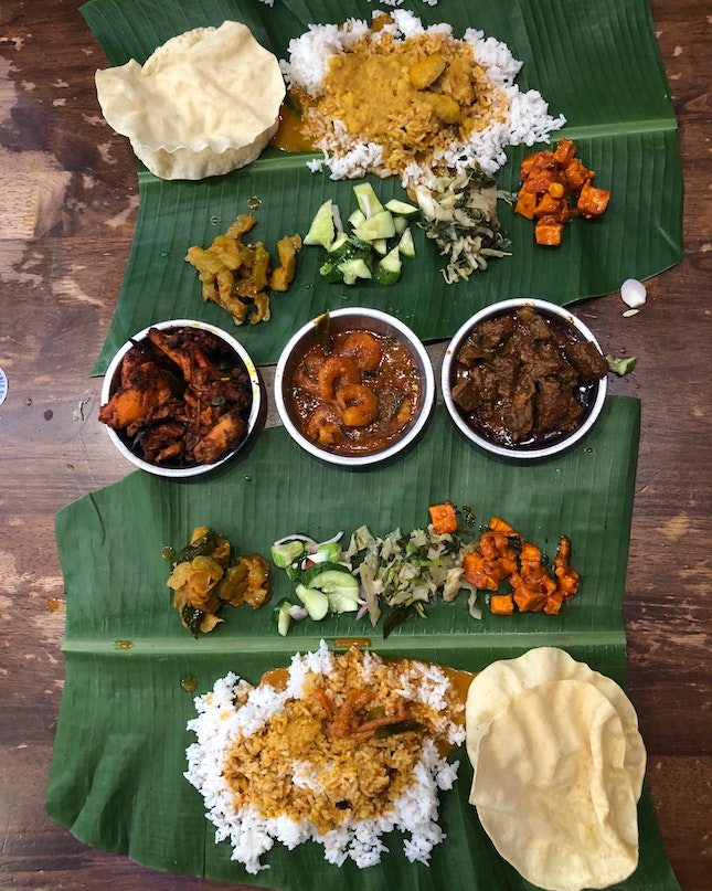 Banana Leaf Rice