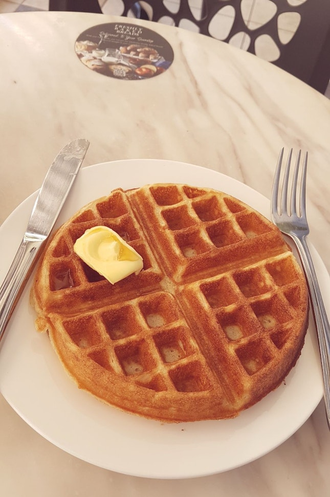 Waffles? Anytime!
