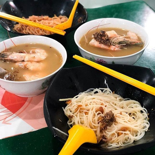 @ Fresh Taste Big Prawn Noodle New supper spot!