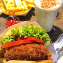 @ Shake Shack • Shroom Burger ($10.80) • Cheese Fries ($5.90) • Pandan Milkshake ($7.80)