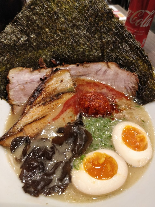 Spicy Tonkotsu Rame (3/5⭐)