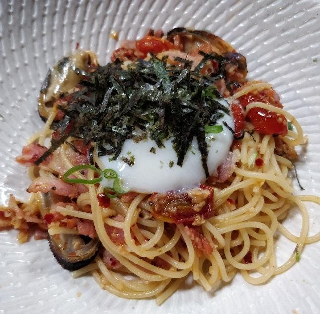 Seafood Aglio Olio (5/5⭐)