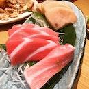 Otoro sashimi at Sushi Tei.