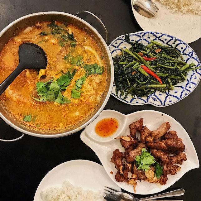 Tom Yum Goong (Seafood) $8.90