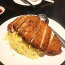Din Tai Fung - Pork Chop Fried Rice [$13.80++] 🐷🍚 Super sinful but super yummmms!