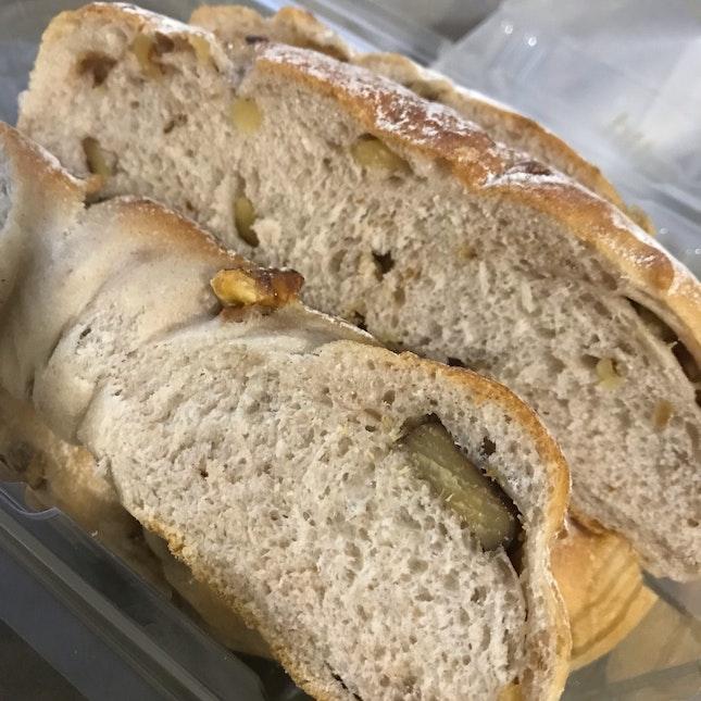 Walnut And Chestnut Bread