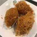 Fried Taro Dumpling With Chicken