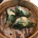 Spinach And Shrimp Crystal Dumpling