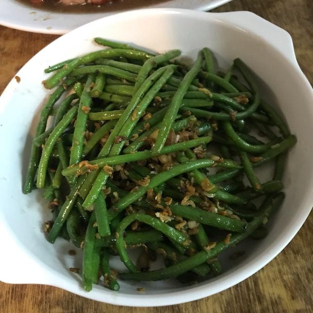 Stir Fry French Bean With Garlic