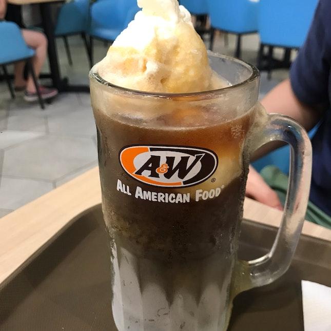 Double Scoop Root Beer Float