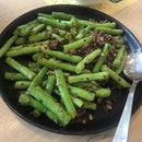 String Beans With Minced Pork