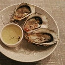 Fresh Oyster with Ponzu Sauce & Yuzu Jelly....yummmmy!