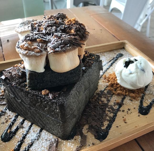 Smores Lava Toast