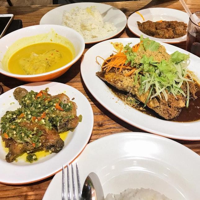 Decent Indonesian Meal