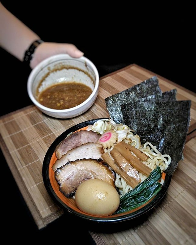 ~ つけ麺 ~ Tsukemen aka Dipping Ramen is a ramen dish in Japanese cuisine consisting of noodles which are eaten after being dipped in a separate bowl of soup or broth.