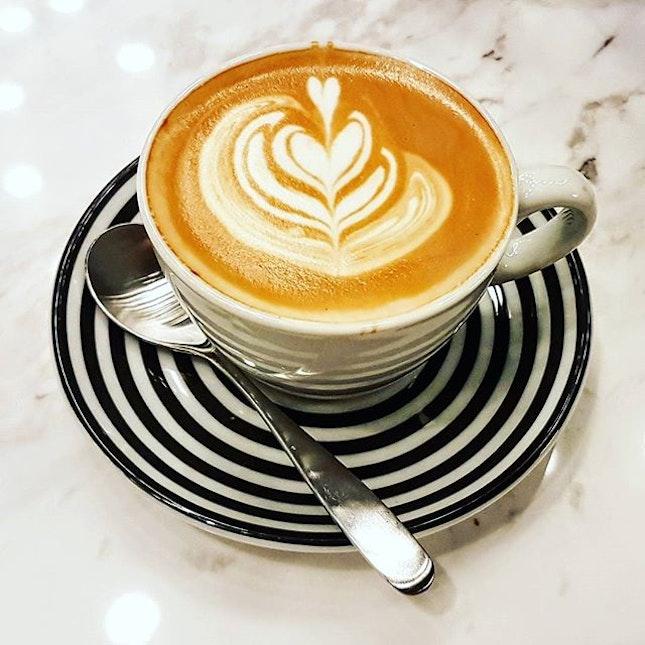 Quality Decaf latte...