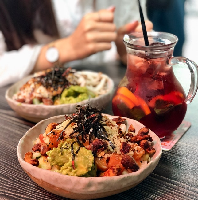 Original Poke Bowl, $18++
