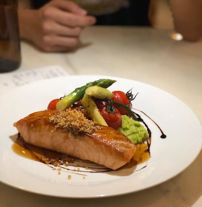 Pan Seared Salmon, $23