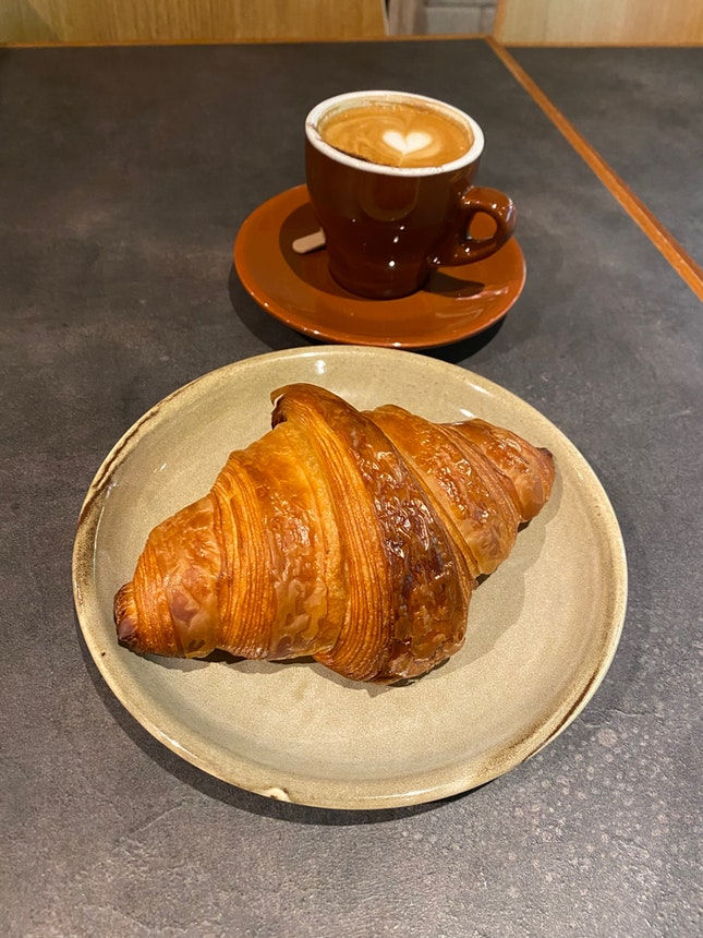 Hands Down To The Best Croissant In SG