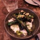 Asparagus & Burrata