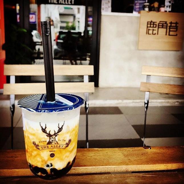 The rhythm of weekend #thealley @thealley.my  #bubbletea #yummy #finally #foodie #jalanjalancarimakan #jjcm #makanmakan #sedap #burpple #burpplekl