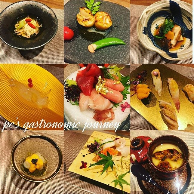 Another Omakase experience at newly launched #sushihari @thelinckl.