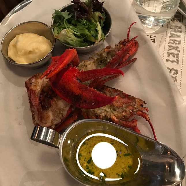 chargrilled whole lobster $52
