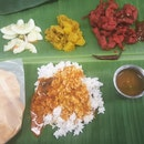 Banana Leaf Set Meal