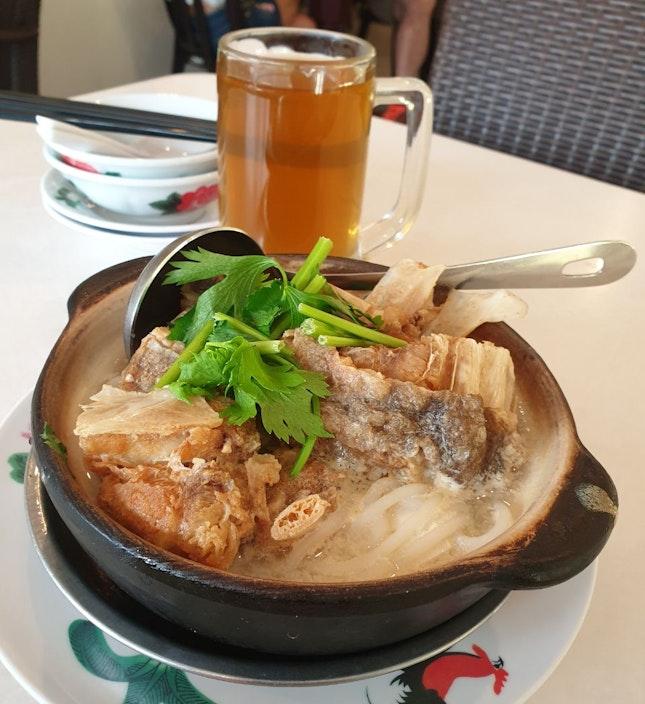 Claypot XO Fish Head Noodle