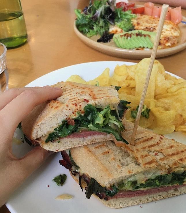 Beef Pastrami Sandwich
