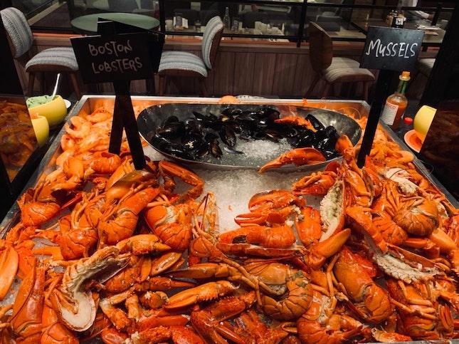 International Seafood Buffet Dinner