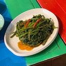 Stir Fry Kangkung ($4.90++)