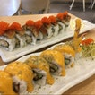 Unagi Maki And Cheesey Soft Shell Crab Maki