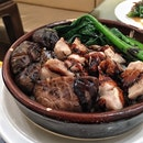Earthen Pot With Chicken And Mushrooms ($7.90)