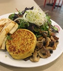 Portobello Salad ($14)