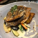 grilled barramundi!!