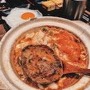 Tomato Sukiyaki Hamburg