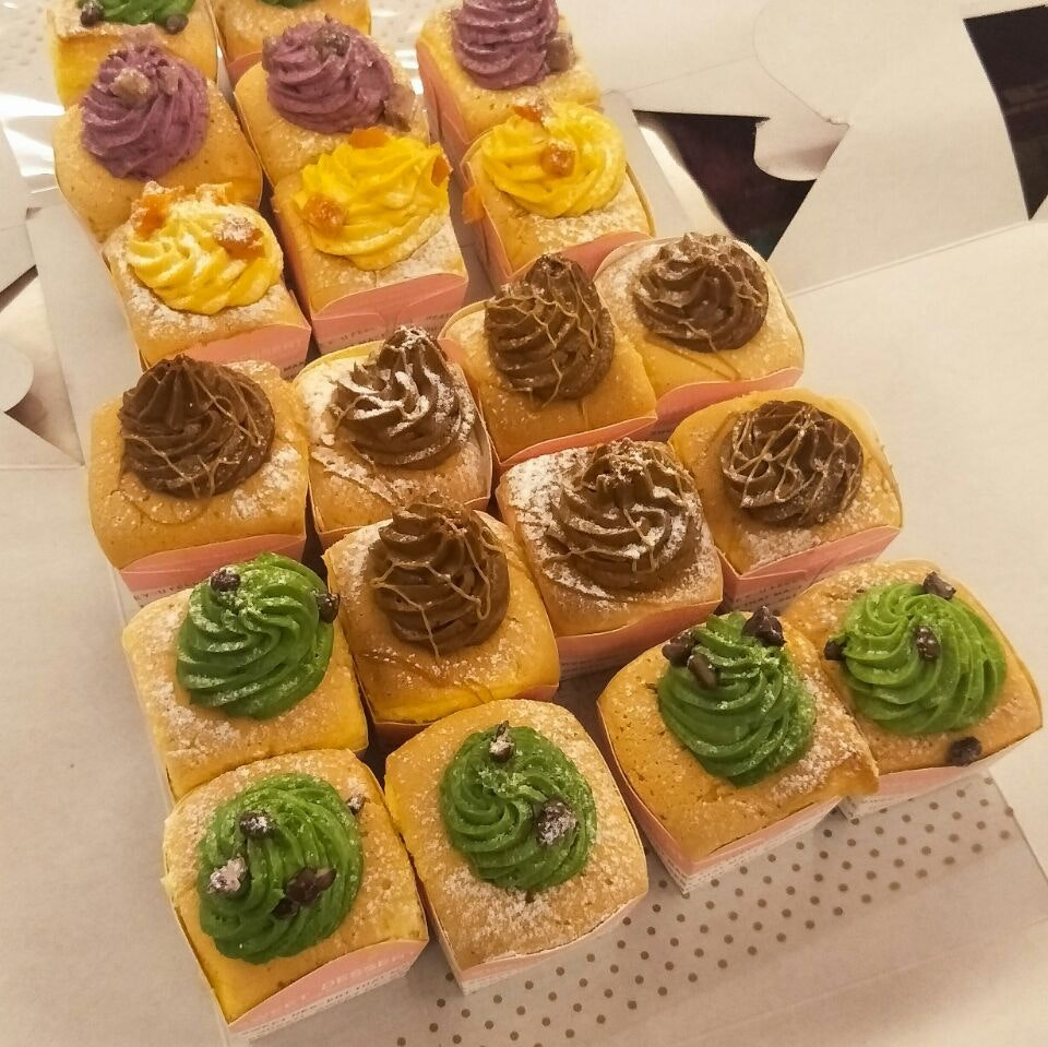 Lovely Hokkaido Cupcakes