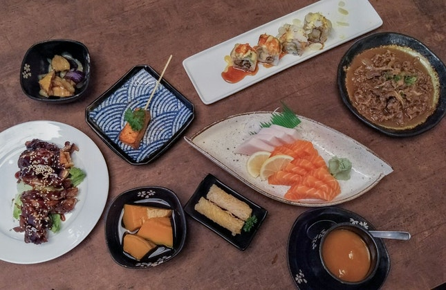 Japanese ala-carte buffet with unique items