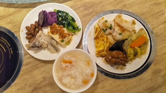 Teochew Porridge Buffet ($12.90++)