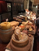 Don't miss out the cheese room!