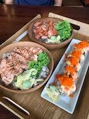 Salmon heaven!